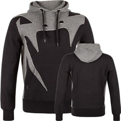 Толстовка Venum Assault Hoody Black/Grey - фото 10790