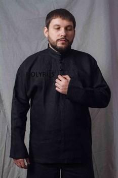 Рубаха Holyrus Иван Грозный черная - вид спереди