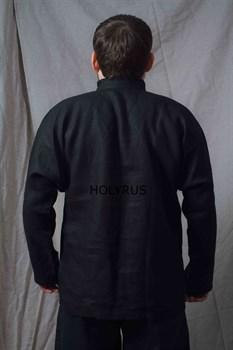 Рубаха Holyrus Иван Грозный черная - вид сзади