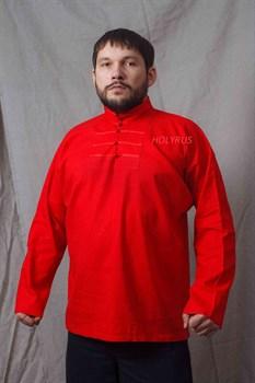 Рубаха Holyrus Иван Грозный красная - вид спереди