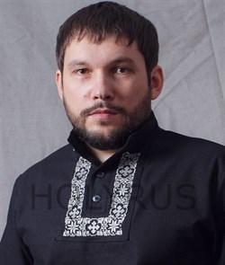 Рубаха Holyrus Православная с манжетами и вышивкой