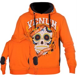 Толстовка Venum Santa Muerte Orange/Black - фото 12070
