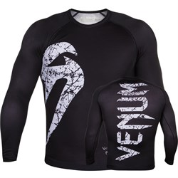 Рашгард Venum Original Giant Black/White L/S - фото 12086