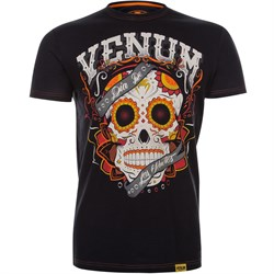 Футболка Venum Santa Muerte Black - фото 12161