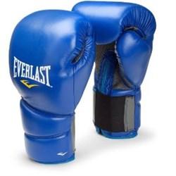 Перчатки боксерские Everlast Protex2 Синие - фото 12661