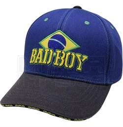 Бейсболка Bad Boy Brazilian сине-черная