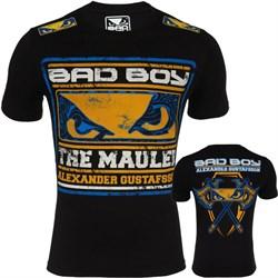 Футболка Bad Boy Gustafsson Axe черная - с двух сторон