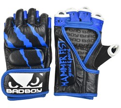 Перчатки для ММА Bad Boy Hammer Fist Black\Blue