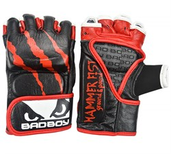 Перчатки для ММА Bad Boy Hammer Fist Black/Red