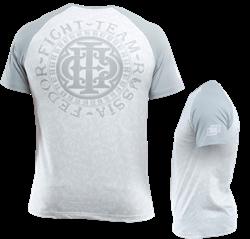 Футболка The Last Emperor белый-серый
