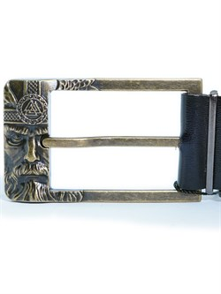 Кожаный ремень Holyrus Отражение Одина L - фото 24266