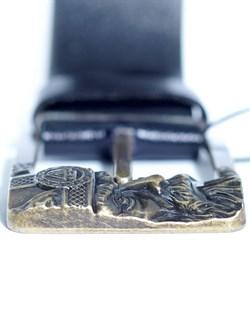 Кожаный ремень Holyrus Отражение Одина L - фото 24268