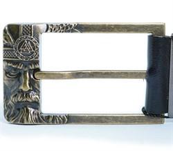 Кожаный ремень Holyrus Отражение Одина L - фото 24272