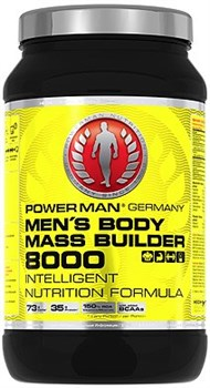 Гейнер PowerMan® Men's Body Mass Builder 8000