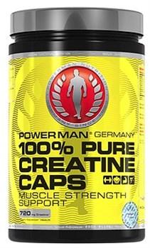 Креатин PowerMan® 100% Pure Creatine Caps