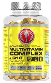 Витамины PowerMan® Multi Vitamine Complex + Q10