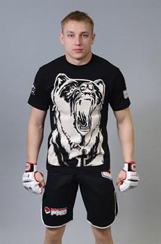 Футболка М-1 Медведь черная