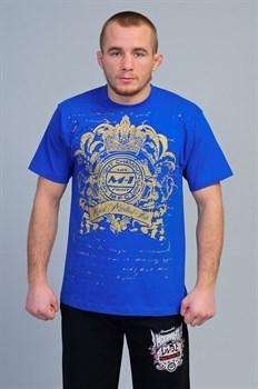 Футболка М-1 Корона синяя