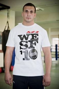 Футболка WESF 2010 белая