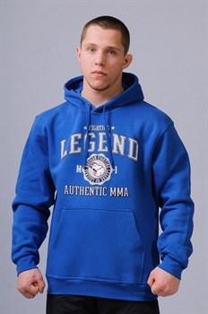 Толстовка Fighting Legend ярко-синяя