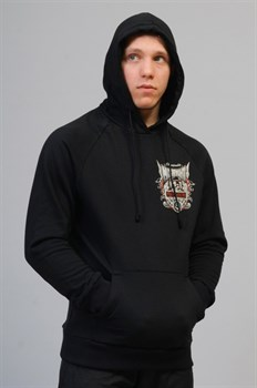 Толстовка M-1 MixFight MMA черная - в капюшоне