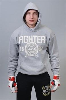 Толстовка Fighter 1997 светло-серая