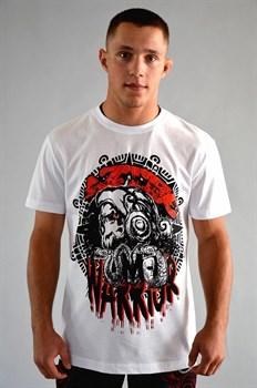 Футболка М-1 Ацтеки Warrior белая