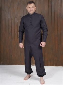 Рубаха Holyrus Сквозь Века С200 черная - фото 43613