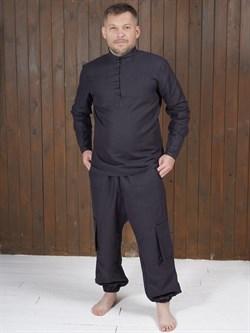 Рубаха Holyrus Сквозь Века С200 черная - фото 43615