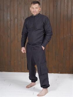 Рубаха Holyrus Сквозь Века С200 черная - фото 43616