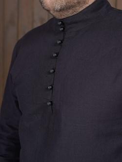 Рубаха Holyrus Сквозь Века С200 черная - фото 43617