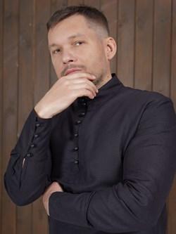 Рубаха Holyrus Сквозь Века С200 черная - фото 43618