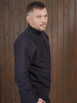 Рубаха Holyrus Сквозь Века С200 черная - фото 43620