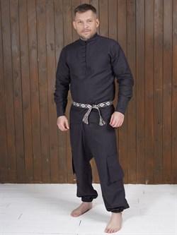Рубаха Holyrus Сквозь Века С200 черная - фото 43621