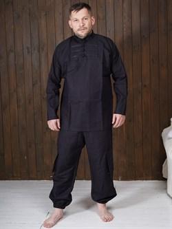 Рубаха Holyrus Иван Грозный Т200 черная - фото 43677