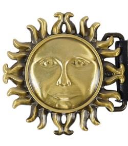 Кожаный ремень Holyrus Солнце Славян - фото 43691