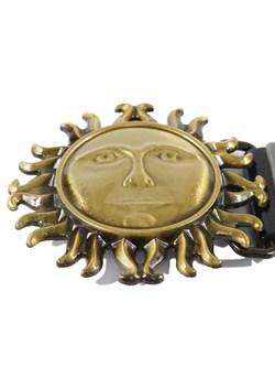 Кожаный ремень Holyrus Солнце Славян - фото 43692