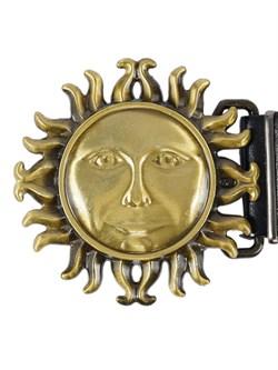 Кожаный ремень Holyrus Солнце Славян - фото 43694