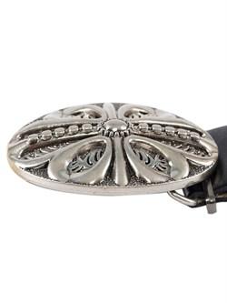 Кожаный ремень Holyrus Цветок Веры - фото 43725