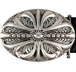 Кожаный ремень Holyrus Цветок Веры - фото 43727