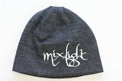 Шапка М-1 MixFight H6 серая - надпись MixFight(миксфайт)