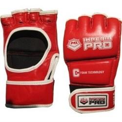 Перчатки ММА M-1 Imperia Pro без защиты пальца красные