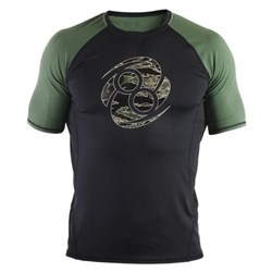 Рашгард Clinch Gear Impulse Compression TOP SS черно-зеленый