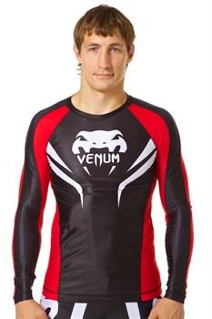 Рашгард Venum Electron 2.0 LS черно-красный