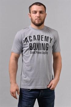 Футболка М-1 Academy Boxing серая