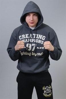 Толстовка Creating Champions 97 серая