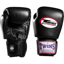 Перчатки боксерские Twins BGVL-3 Black - фото 7460