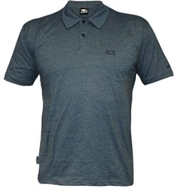 Поло Bad Boy Plain Polo Shirt - Air Force Blue - фото 8071