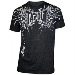 Футболка Tapout Bones Men's T-Shirt Black - фото 8192
