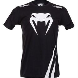 Футболка Venum Challenger - Black/White - фото 8263